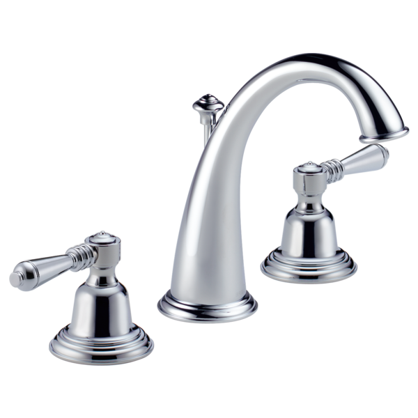 Two Handle Widespread Lavatory Faucet - Less Handles : 6520LF-PCLHP ...