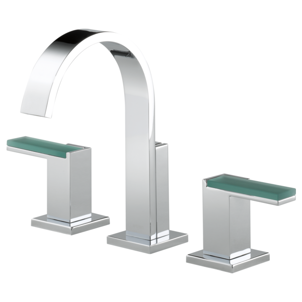 Widespread Lavatory Faucet - Less Handles : 65380LF-PCLHP--HL5381-PC ...