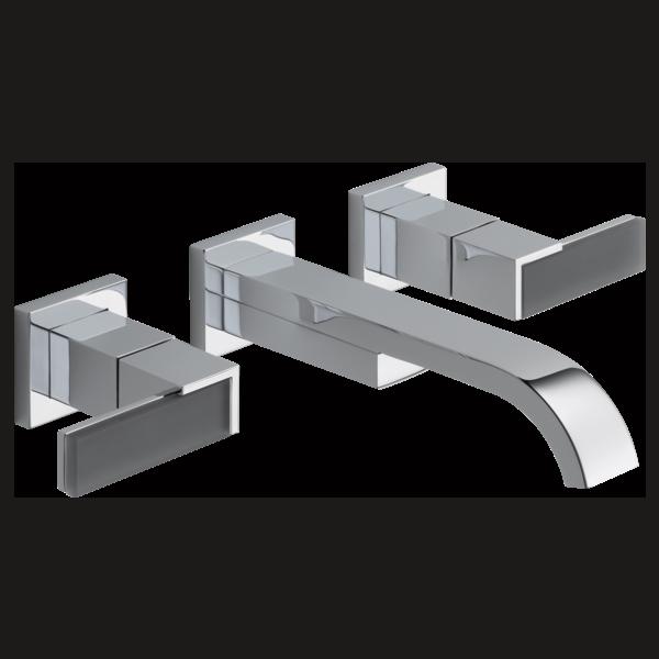 Wall-Mount Vessel Lavatory Faucet - Less Handles : 65880LF-PCLHP ...