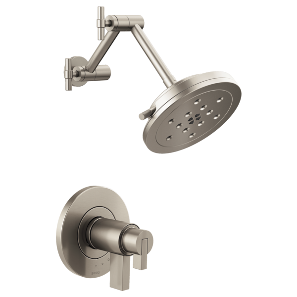 BRIZO T60235-NKLHP TEMPASSURE THERMOSTATIC SHOWER ONLY BRUSHED NICKEL MC381455
