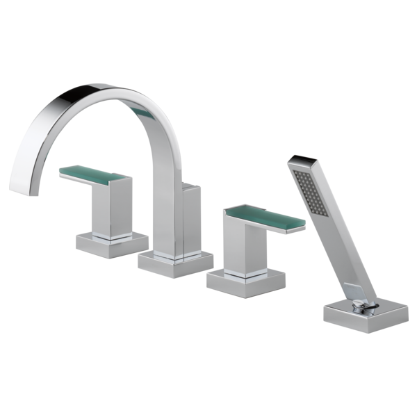 roman tub faucet with sprayer. Roman Tub Trim With Hand Shower  Less Handles T67480 PCLHP HL681