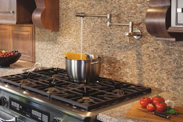 Modern Pot Filler Kitchen Faucet