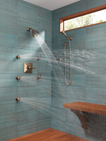 Wall Mount Hand Shower Rp41202bz Traditional Bath
