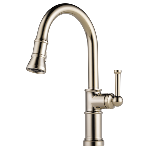 Single Handle Pull Down Kitchen Faucet 63025lf Pn Artesso