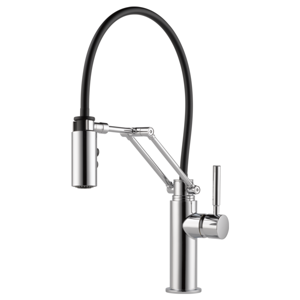 Single Handle Articulating Kitchen Faucet : 63221LF-PC : Solna ...