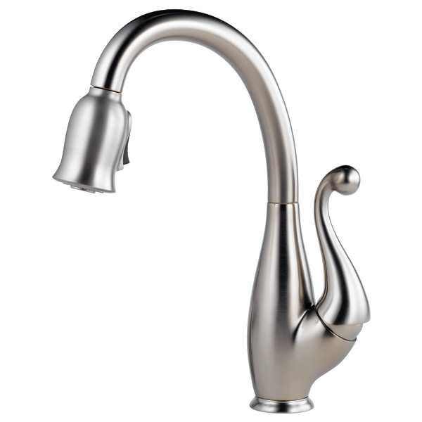 Single Handle Pull-Down Kitchen Faucet : 63500-SS : Floriano ...