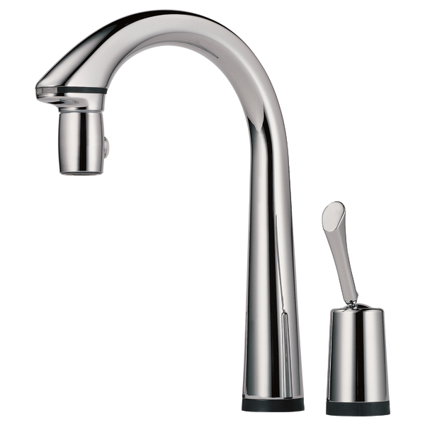 Peerless Single Handle Kitchen Faucet Repair Black Flange