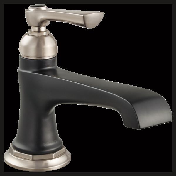Single Handle Single Hole Lavatory Faucet : 65060LF-NKBL : Rook ...