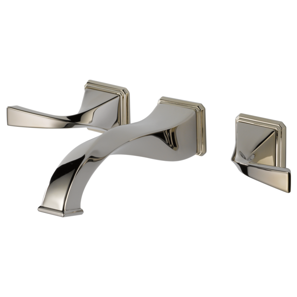 Two Handle Wall-Mount Lavatory Faucet : 65830LF-PN : Virage ...