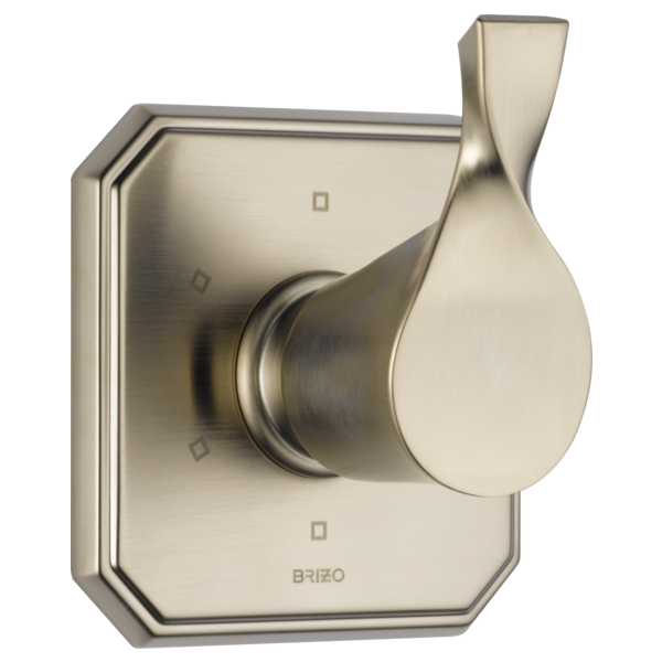 //WSL// BRIZO T60930-BN BRUSHED NICKEL VIRAGE 6-FUNCTION DIVERTER TRIM 3 INDIVDUAL POSITIONS 3 SHARED POSITIONS 1/2