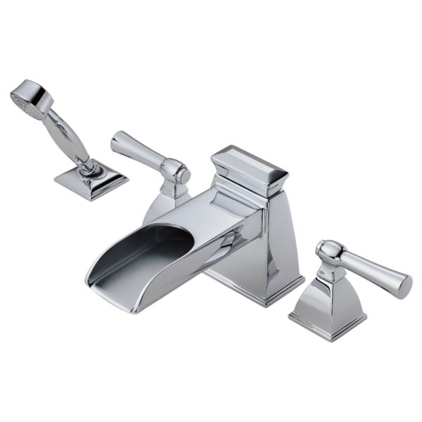 Roman Tub Trim with Hand Shower : T67745-PC : Vesi® : Bath : Brizo