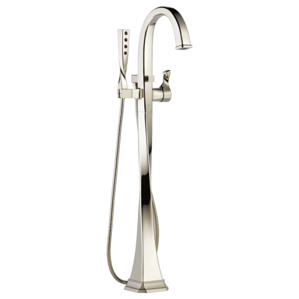 Single-Handle Freestanding Tub Filler : T70130-PN : Virage® : Bath ...