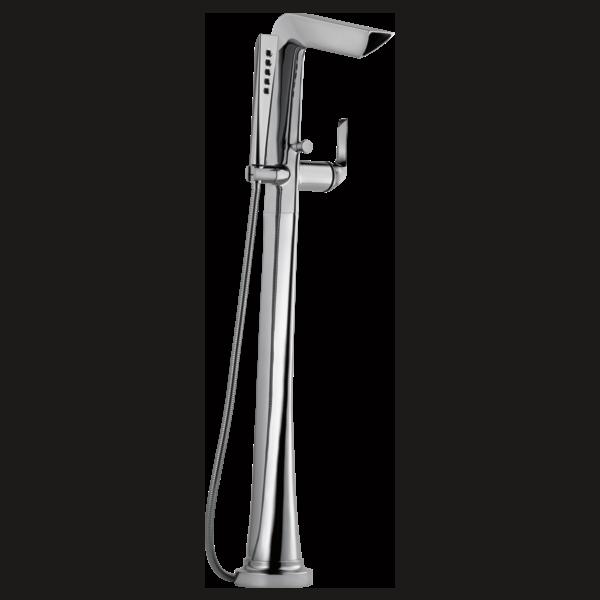 Freestanding Floor Mount Tub Filler : T70150-PC : Sotria® : Bath ...