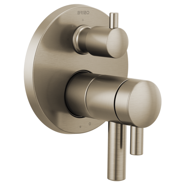 Odin Tempassure Thermostatic Valve With Integrated 3 Function Diverter Trim