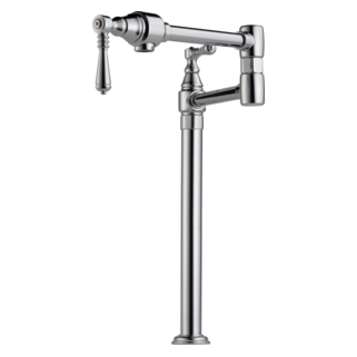 brizo deck mount pot filler faucet 62710lfpc