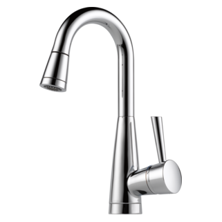 Charmant Venuto Single Handle Pull Down Prep Faucet 63970LF  ...