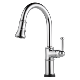Rachel Pull Down Kitchen Faucet with Spring Spout Kitchen signaturehardware.com Kitchen Kitchen Faucets Single Hole Faucets