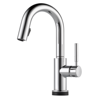 Single Handle Articulating Kitchen Faucet 63221lf Bl