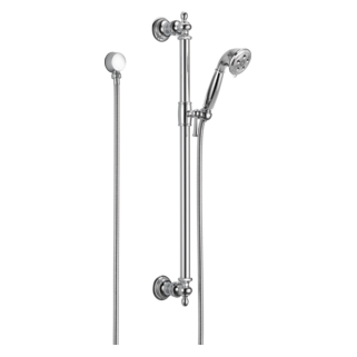 brizo traditional hand shower with slide bar 85710pc