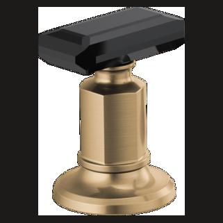 Widespread Handle Kit  - Black Crystal Knob