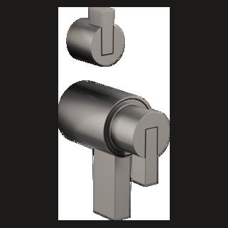 Tempassure<sup>®</sup> Thermostatic Valve With Diverter Trim Handle Kit - Lever