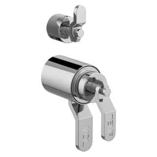 Tempassure<sup>®</sup> Thermostatic Valve With Diverter Trim Handle Kit - Industrial Lever