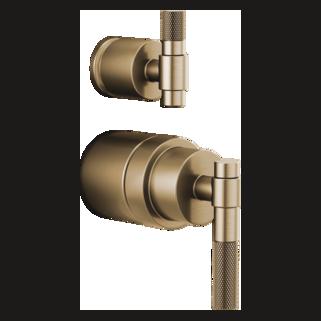 Pressure Balance Valve Trim Handle Kit - T-lever