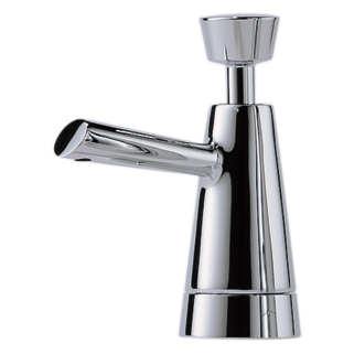 Single handle pull down kitchen faucet 63070lf pc for Faucet soap dispenser placement